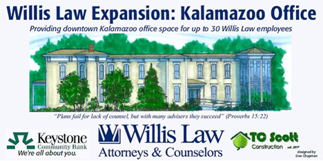 Willis Law Expansion: Kalamazoo Office
